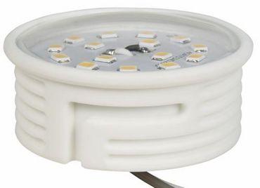 LED Flat 5 Watt warm weiß 400 Lumen 230 Volt Ø 50 x 28 mm 20 Stück -#9161 – Bild 1