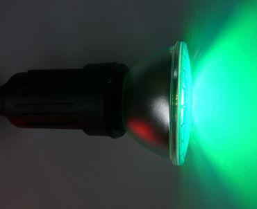 LED Garten Spot 15 Watt GRÜN Sockel E-27 mit Dichtring Type PAR-38 -#6859 – Bild 2