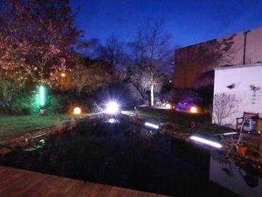 LED Leuchtstab Kunststoff Grün 18 Watt 123 cm IP-44 Außen -#9659 – Bild 1