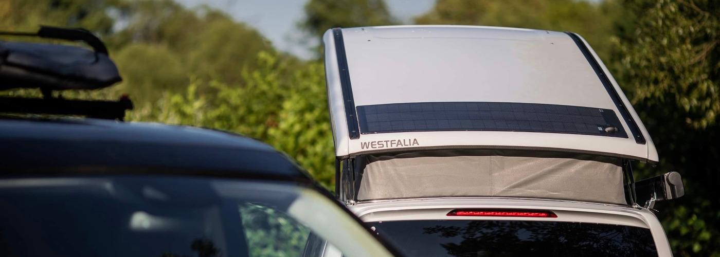 Die smarte 110 Watt Solaranlage für Mercedes Marco Polo, Horizon, Activity (W447) ab BJ2014 autark Solarstrom für deinen Camper - inkl. Einbau