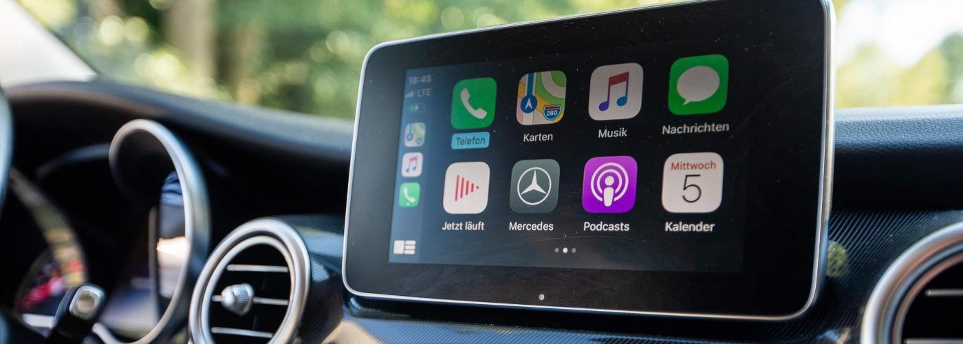 CarPlay® & Android-Auto für Mercedes V Klasse, Marco Polo, Marco Polo Horizon inkl. Einbau