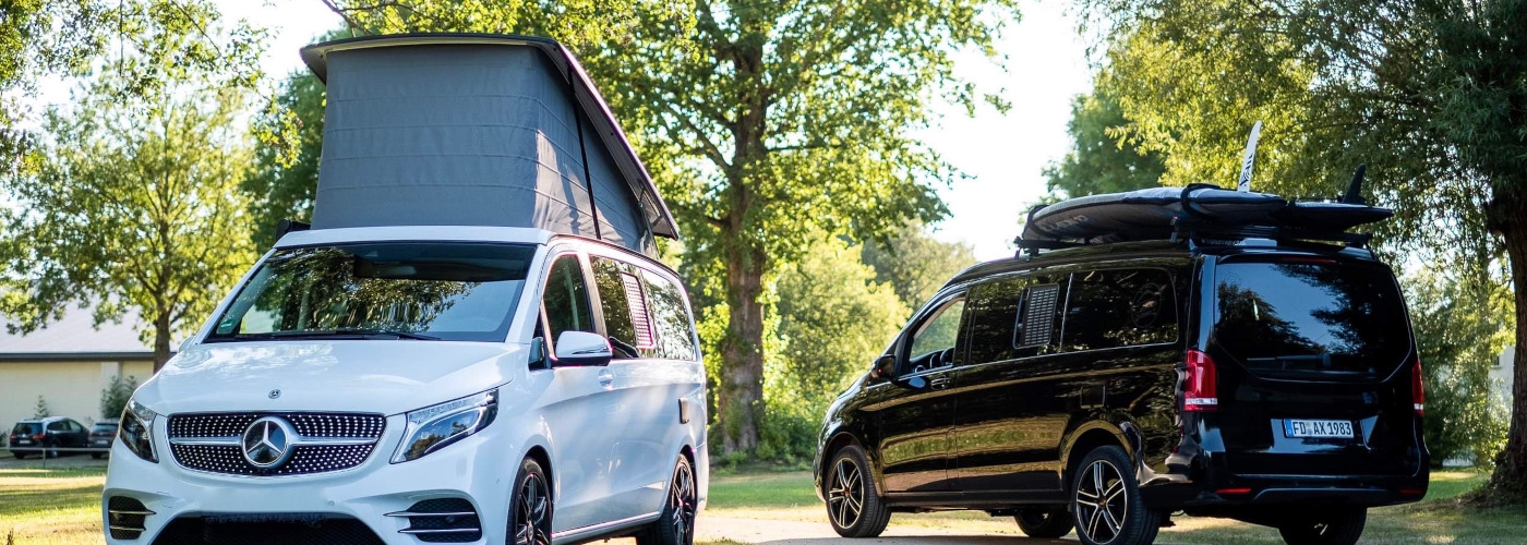 VB Air Suspension Vollluftfederung für Mercedes V Klasse, Marco Polo, Horizon, Activity -  inkl. Einbau und ABE