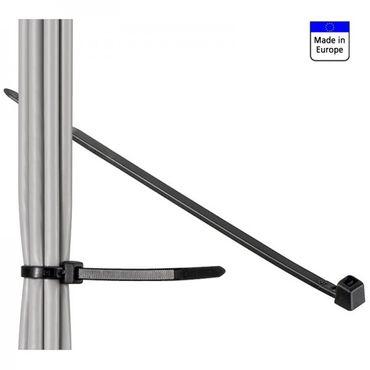 CIMCO Kabelbinder 280mm x 4.5mm, schwarz