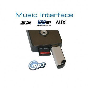 KUFATEC USB-Interface (SD,AUX) Mini-ISO für Audi, VW, Seat, Skoda – Bild 1