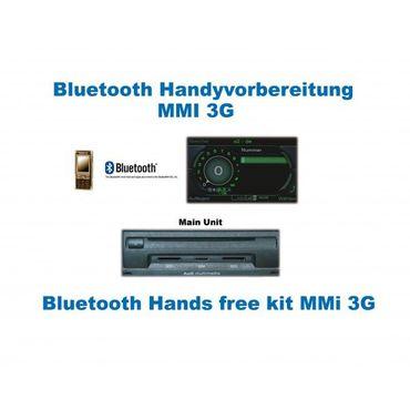 KUFATEC Handyvorbereitung Bluetooth®Audi A5 8T ''Cabrio'' MMI 3G ''Nur Bluetooth – Bild 1