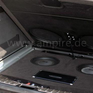 AMPIRE Subwoofer, 25cm (10'') Slim-Line – Bild 3