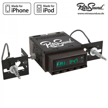 "RETROSOUND Autoradio Model Two"", schwarze Tasten"" – Bild 2"