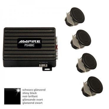 AMPIRE Einparkhilfe, 4-fach, Schwarz glänzend – Bild 1