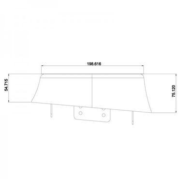 RETROSOUND Aufbaurahmen für 13cm/16cm Lautsprecher – Bild 6