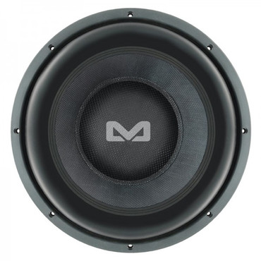 AMPIRE Subwoofer, 30cm/12'', 1 + 1 Ohm, Black 12.1 – Bild 1