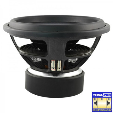 AMPIRE Subwoofer, 38cm/15'', 1 + 1 Ohm, Black15.1 – Bild 2