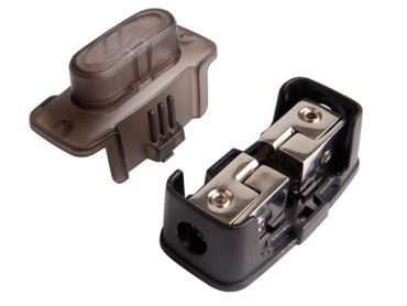 In Line Maxi Sicherungshalter (vernickelt) 10 / 20 mm²