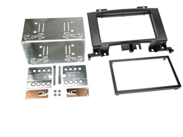 2-DIN RB Mercedes Sprinter (W906) / VW Crafter schwarz