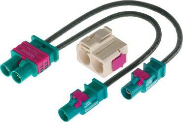 Zenec ZE-NC-ANT4 ZENEC E>GO Fakra-Adapter für VW Switch-Diversity