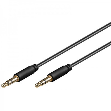 Ampire W29106 Audio-Kabel 3.5mm Slim-Klinke, 1.5m, 3-polig