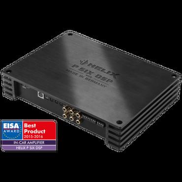 Helix P SIX DSP MK2 | 6-Kanal Verstärker mit integriertem digitalen 8-Kanal Signalprozessor – Bild 1