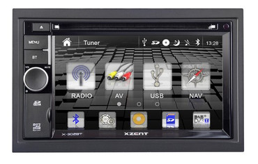 XZENT X-302MH 2-Din Naviceiver mit MotorHome Software