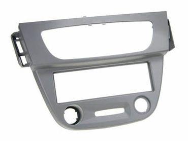 1-DIN Einbaurahmen, grau, Renault Fluence / Megane III 09 >