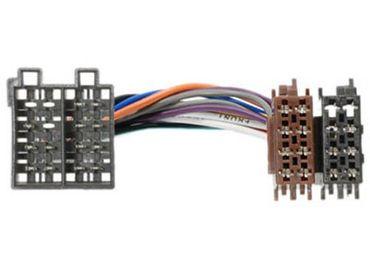 Adapterkabel ISO, MERCEDES / OPEL / SAAB mit 16-pol Stromanschl
