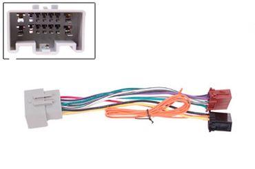 Adapterkabel ISO, Fiesta MK6 08 -> Volvo C30/C70 S40/V50 XC90