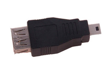 USB  Adaption, Mini USB 5-pin Stecker ->USB 2.0 Buchse