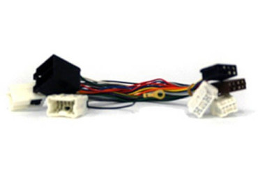 MP3PARROTT Kabelsatz NISSAN, 12+8 + 12+8 pin  -> ISO-ISO