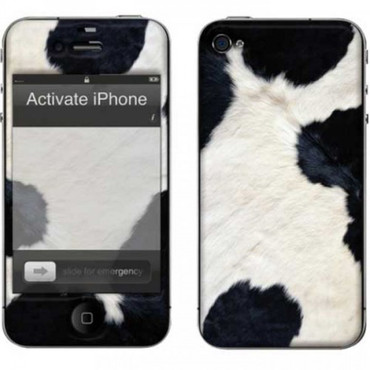 muvit Customization Kit für iPhone 4, Cow