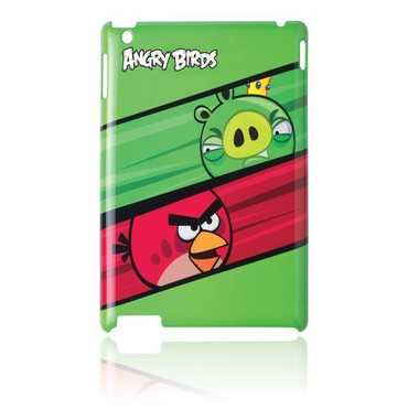 Gear4 Angry Birds IML Pig King vs Red Bird for iPad 2