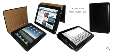 PielFrama iPad 1G black magnetic