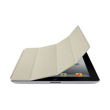 iPad Smart Cover Leather Cream