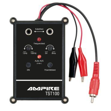 AMPIRE Testgerät für Lautsprecherpolung, Frequenzbereich und Durchgang - TST100 – Bild 1