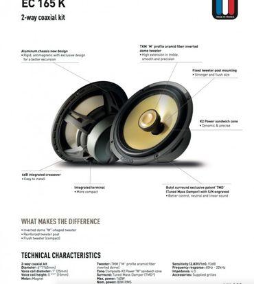 Focal Elite K2Power EC165K Coax 16.5cm F-EC165K – Bild 2