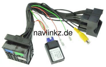 NAVLINKZ Rückfahrkamera-Eingang NTSC für VAG MIB, MIB2 - Standard und High - RL3-MIB2