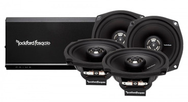 ROCKFORD FOSGATE 4-Channel Motorcycle System R1-HD4-9813