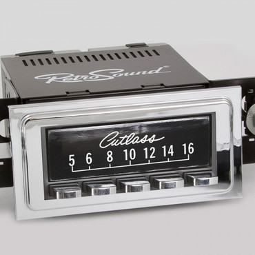 "RETROSOUND bedruckte Displayschutzfolie, ""Oldsmobile Cutlass"" 3er Set SCP28"