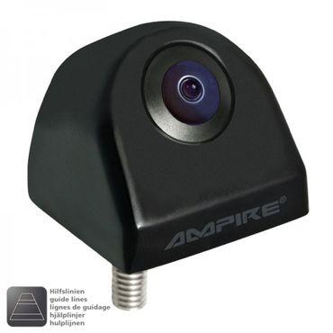 AMPIRE Farb-Rückfahrkamera, Aufbau mit Weitwinkellinse KCR802-W – Bild 1