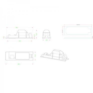 NAVLINKZ Griffleisten-Kamera Opel - VSC-E-OP21 – Bild 4