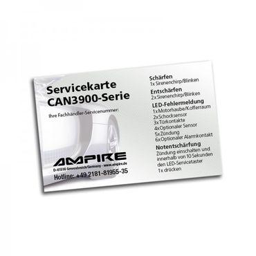 AMPIRE Auto Alarmanlage für alle Fahrzeuge mit Canbus (Alfa Romeo bis Mercedes) – Bild 5