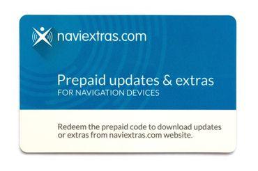 Prepaid-Karte für ZENEC Z-E2015 Karten-Updates Z-EACC-CRD1