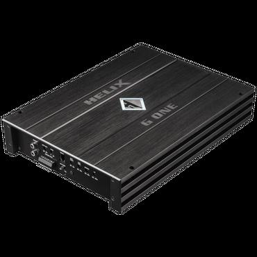 Helix G-ONE -1-Kanal Subwoofer-Verstärker mit integrierter aktiver Frequenzweiche, 1 Ohm Stabilität – Bild 1