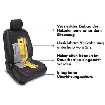 AMPIRE Sitzheizung, 3-stufig schaltbar mit Temperaturregelung (2.Generation) - HEAT300-2G – Bild 6