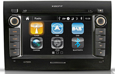 XZENT X-F220 for Fiat Ducato without Nav-SD card - X-F220