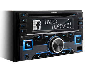 Alpine CDE-W296BT - 2-DIN CD RECEIVER MIT BLUETOOTH – Bild 2