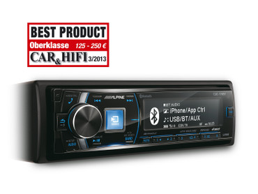 Alpine CDE-178BT - CD RECEIVER MIT BLUETOOTH® – Bild 1