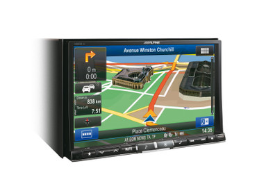 Alpine X800D-U - Advanced Navi Station – Bild 5