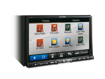 Alpine X800D-U - Advanced Navi Station – Bild 2