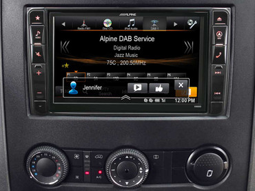 Alpine X800D-S906 - Advanced Navi Station, Alpine Style Produkt für Mercedes Sprinter (W906) – Bild 2
