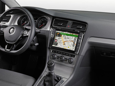 Alpine X901D-G7 - Advanced Navi Station, Alpine Style für Volkswagen Golf VII  – Bild 5