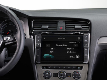 Alpine X901D-G7 - Advanced Navi Station, Alpine Style für Volkswagen Golf VII  – Bild 3