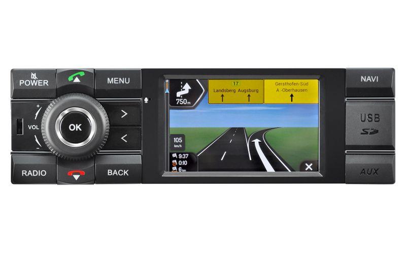 kienzle mcr1031nav car 1din navigation mit dab autoradio navigation 1 din autoradios. Black Bedroom Furniture Sets. Home Design Ideas